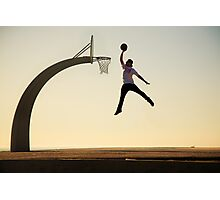 Mike Mo - Dunk Photographic Print