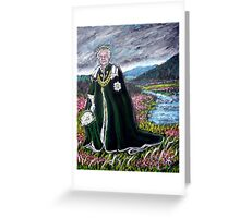 The Queen a Landscape Greeting Card