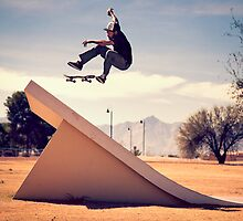 Ray Barbee - 360 Flip by asmithphotos