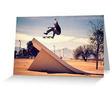 Ray Barbee - 360 Flip Greeting Card