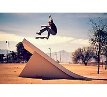 Ray Barbee - 360 Flip Photographic Print