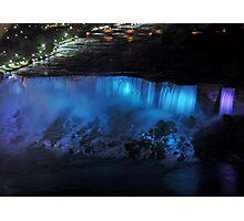 American Falls at Night Photographic Print