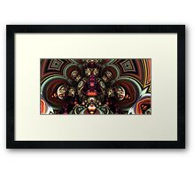 Mandel kaleidoscope Framed Print