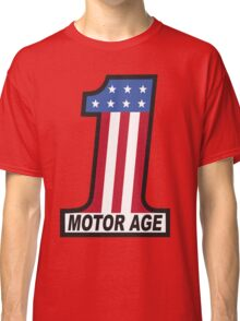 Motor Age American Flag 1 Classic T-Shirt
