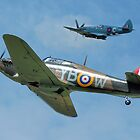 Hawker Hurricane and Supermarine Spitfire by © Steve H Clark