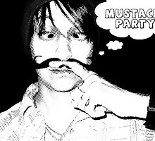 mustache party by maydaze