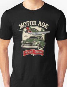 Motor Age Clothing Vintage Warbird  Unisex T-Shirt