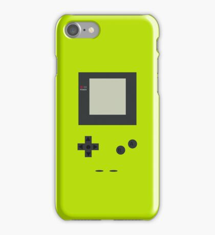 gameboy color lime iPhone Case/Skin