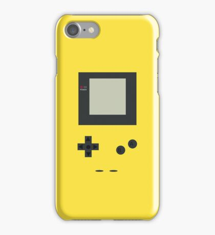 Gameboy Color Yellow iPhone Case/Skin