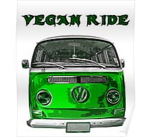 VW Vegan ride Poster