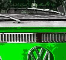 VW Vegan ride Sticker