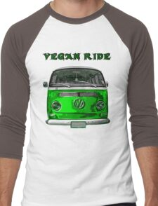 VW Vegan ride Men's Baseball ¾ T-Shirt