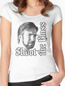Shoot the Glass Women's Fitted Scoop T-Shirt