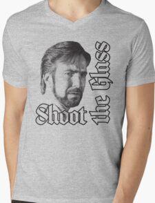 Shoot the Glass Mens V-Neck T-Shirt