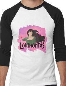 Lokihontas Men's Baseball ¾ T-Shirt