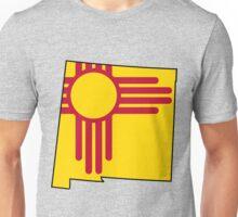 New Mexico Flag [Blk] | State Line | SteezeFSC Unisex T-Shirt