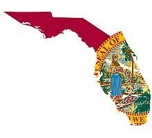 Florida Flag   State Line   SteezeFSC by FreshThreadShop
