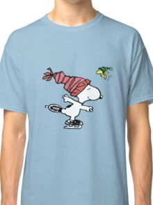 Snoopy Skating Classic T-Shirt
