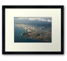 Above Hawaii Framed Print