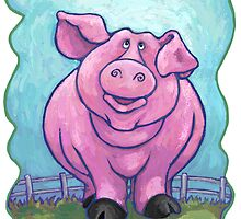 Animal Parade Pig by ImagineThatNYC