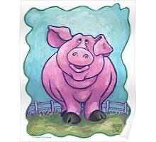 Animal Parade Pig Poster
