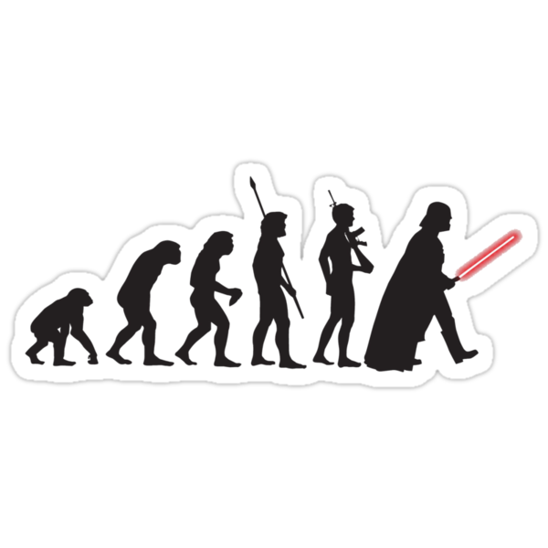 Human evolution Star wars by ShahedM