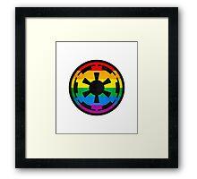 Rainbow Empire Framed Print