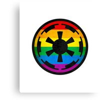 Rainbow Empire Canvas Print