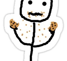 What? I'm not addicted to cookies!? Sticker