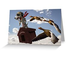 The Flying Ace Greeting Card