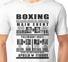 BSG Boxing Card Unisex T-Shirt