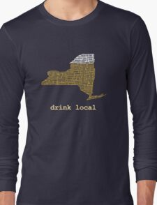 Drink Local (NY) Long Sleeve T-Shirt