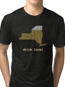 Drink Local (NY) Tri-blend T-Shirt
