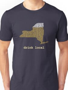 Drink Local (NY) Unisex T-Shirt