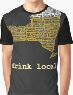 Drink Local (NY) Graphic T-Shirt
