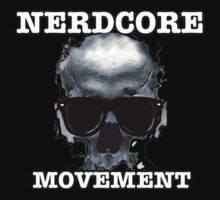 The Nerdcore Movement Official T-Shirt by damonmartin