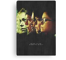 The Clone Club Canvas Print