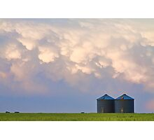 Mammatus Country Landscape Photographic Print