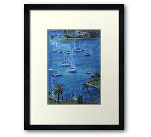 Elizabeth Bay Framed Print