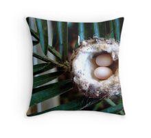 little eggs Throw Pillow