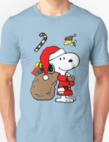 Snoopy Claus is Coming T-Shirt