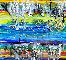 Rivulets and Rafts by Regina Valluzzi