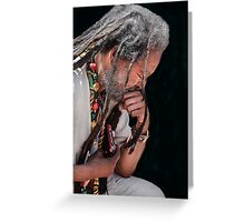 His Prayer for Peace Greeting Card