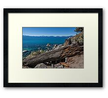At Secret Harbor - Lake Tahoe Framed Print