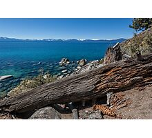 At Secret Harbor - Lake Tahoe Photographic Print
