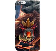 Roar of Entei iPhone Case/Skin