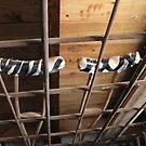 crutch storage by Tim Horton