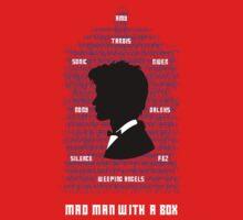 Mad Man With a Box Kids Tee