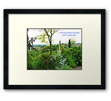 Happy Father's Day, Dearest Husband Framed Print