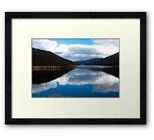 Corin Dam - HDR Framed Print